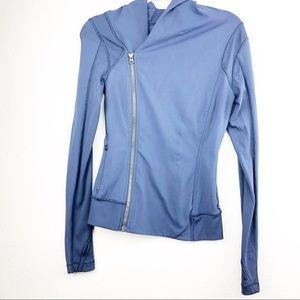 Lululemon Navy Blue Bhakti Yoga Jacket Size 4